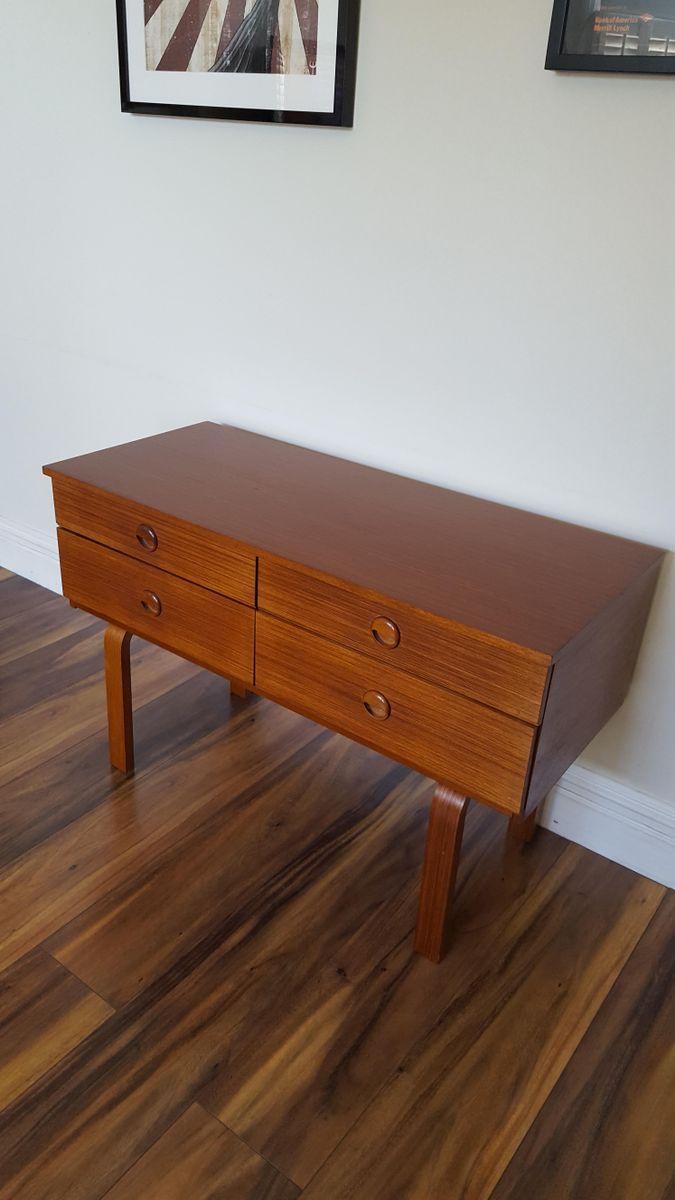 mid century kommode mit bugholz beinen bei pamono kaufen. Black Bedroom Furniture Sets. Home Design Ideas