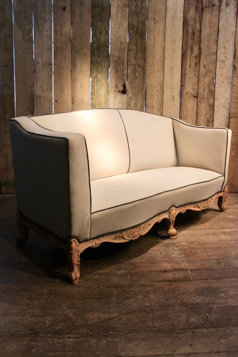 French furniture sofa - French Country House Sofa 1900s