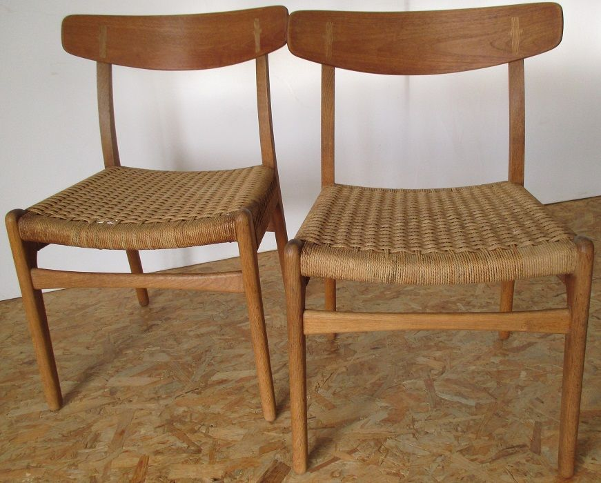 modell ch23 stuhl von hans wegner f r carl hansen son. Black Bedroom Furniture Sets. Home Design Ideas