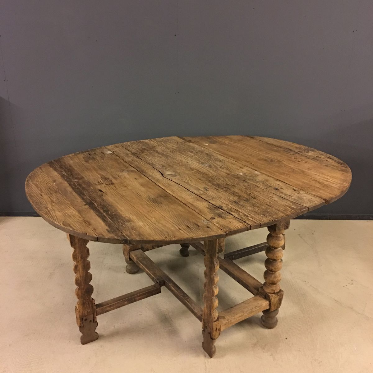 Swedish Oval Pine Gateleg Table Th Century For Sale At Pamono - Antique gateleg tables