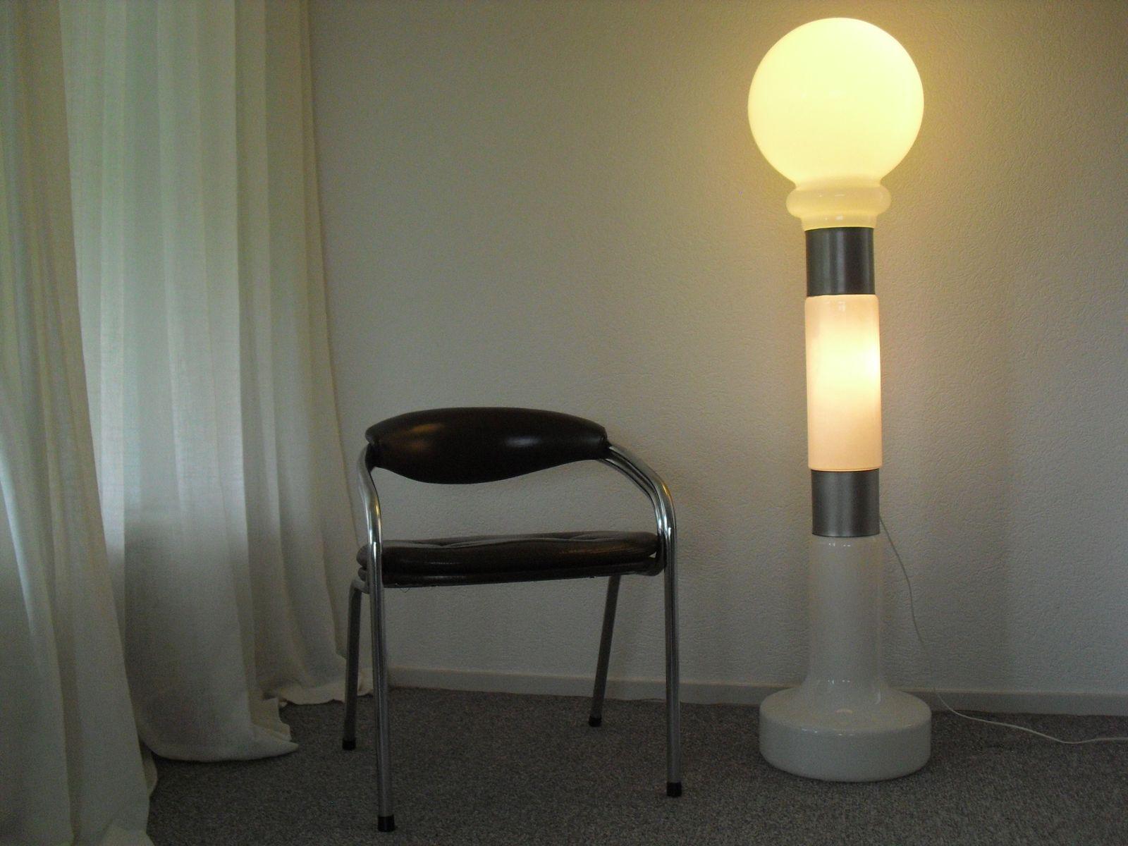 lampadaire en verre de murano par carlo nason pour mazzega italie 1960s en vente sur pamono. Black Bedroom Furniture Sets. Home Design Ideas