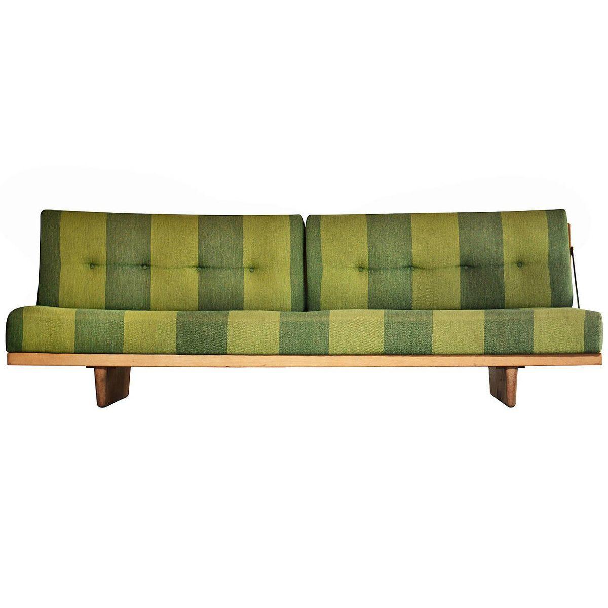 Model 191 Sofa Or Daybed In Oak By Børge Mogensen For Fredericia  Stolefabrik, 1955