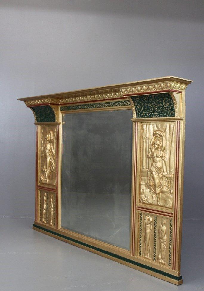 gro er antiker viktorianischer spiegel bei pamono kaufen. Black Bedroom Furniture Sets. Home Design Ideas