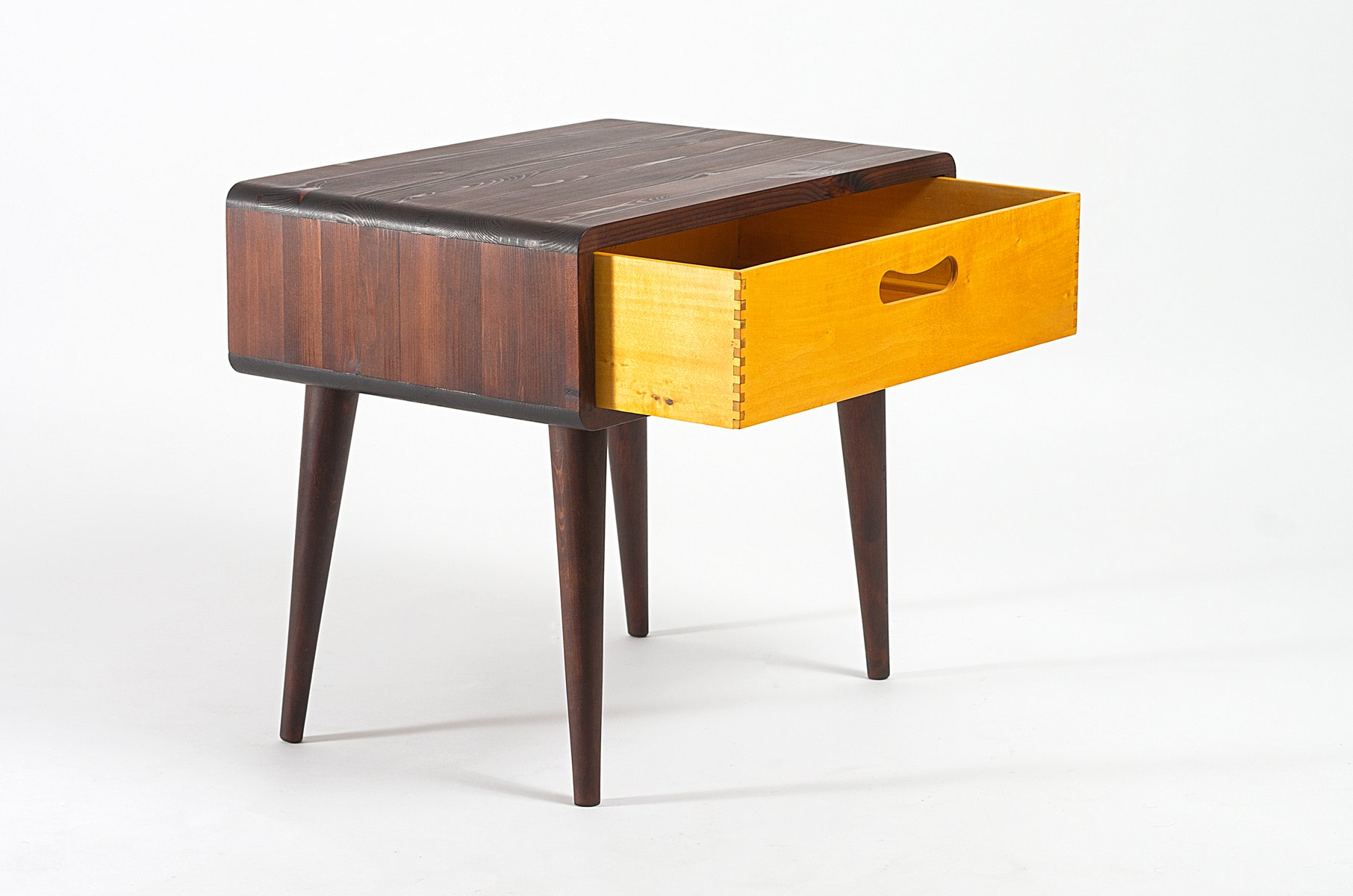 midcentury side table with drawer for sale at pamono - midcentury side table with drawer  previous