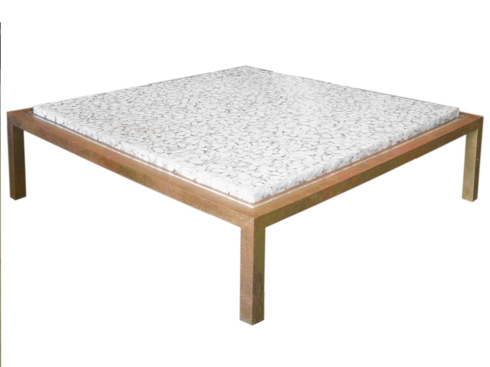 Resin Coffee Table By Jean Brand 1970s For Sale At Pamono