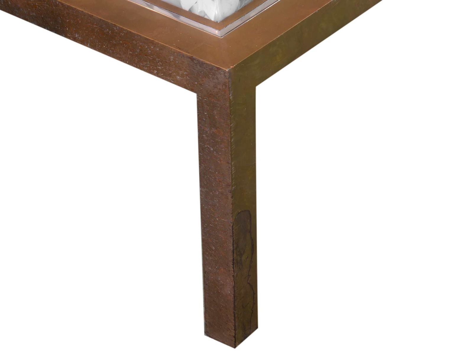 Table basse en r sine par jean brand 1970s en vente sur - Table basse en resine ...