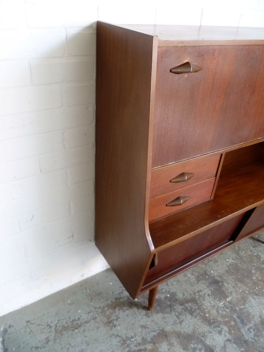 vintage highboard cabinet 1960s for sale at pamono. Black Bedroom Furniture Sets. Home Design Ideas