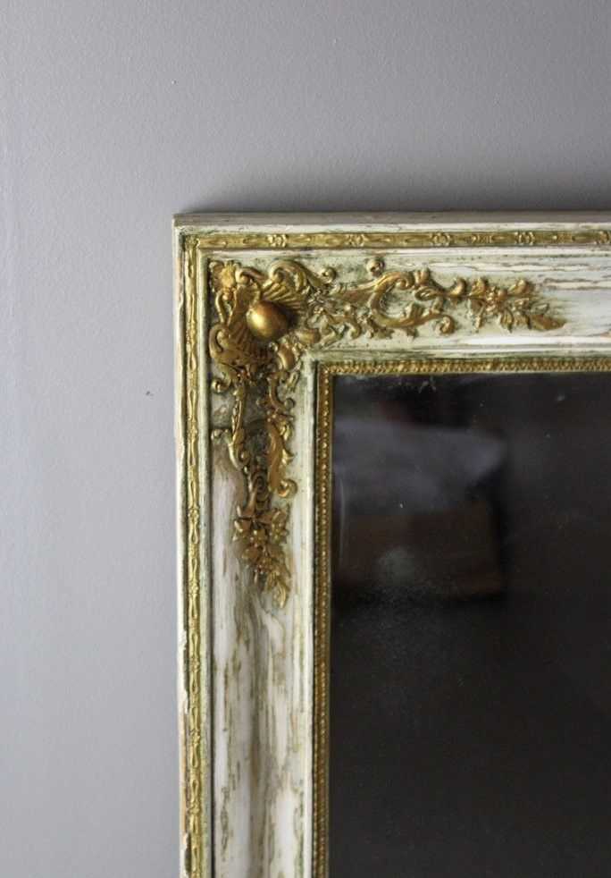 grand miroir de chemin e antique france en vente sur pamono