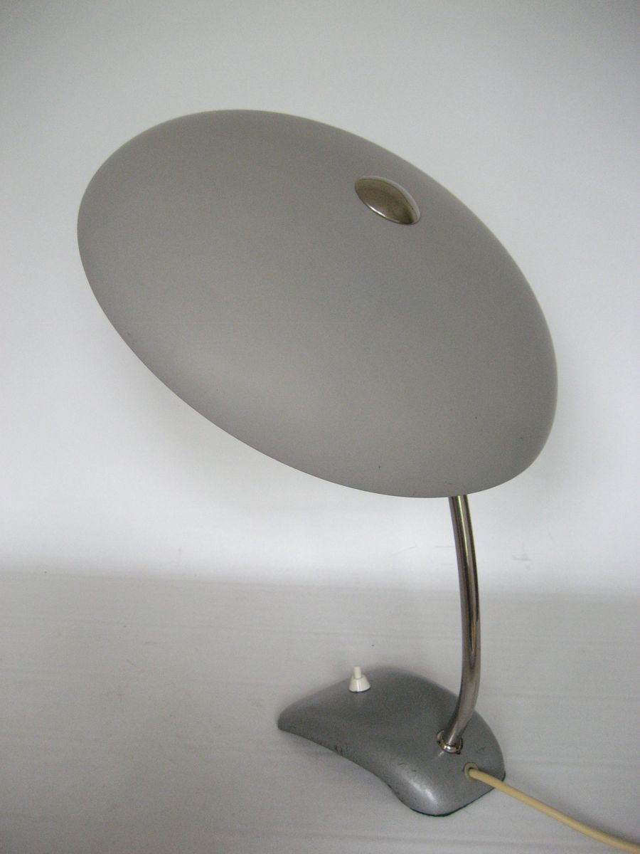 lampe de bureau vintage ajustable sur base en fonte en. Black Bedroom Furniture Sets. Home Design Ideas