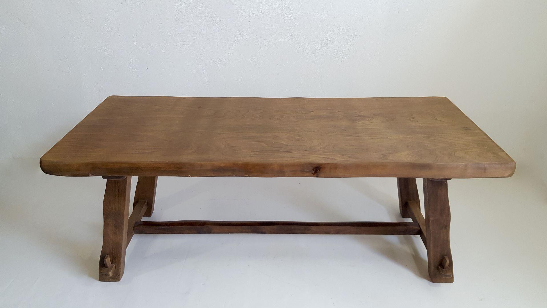 Table de salle manger model t en orme par olavi hanninen for Salle a manger 1950