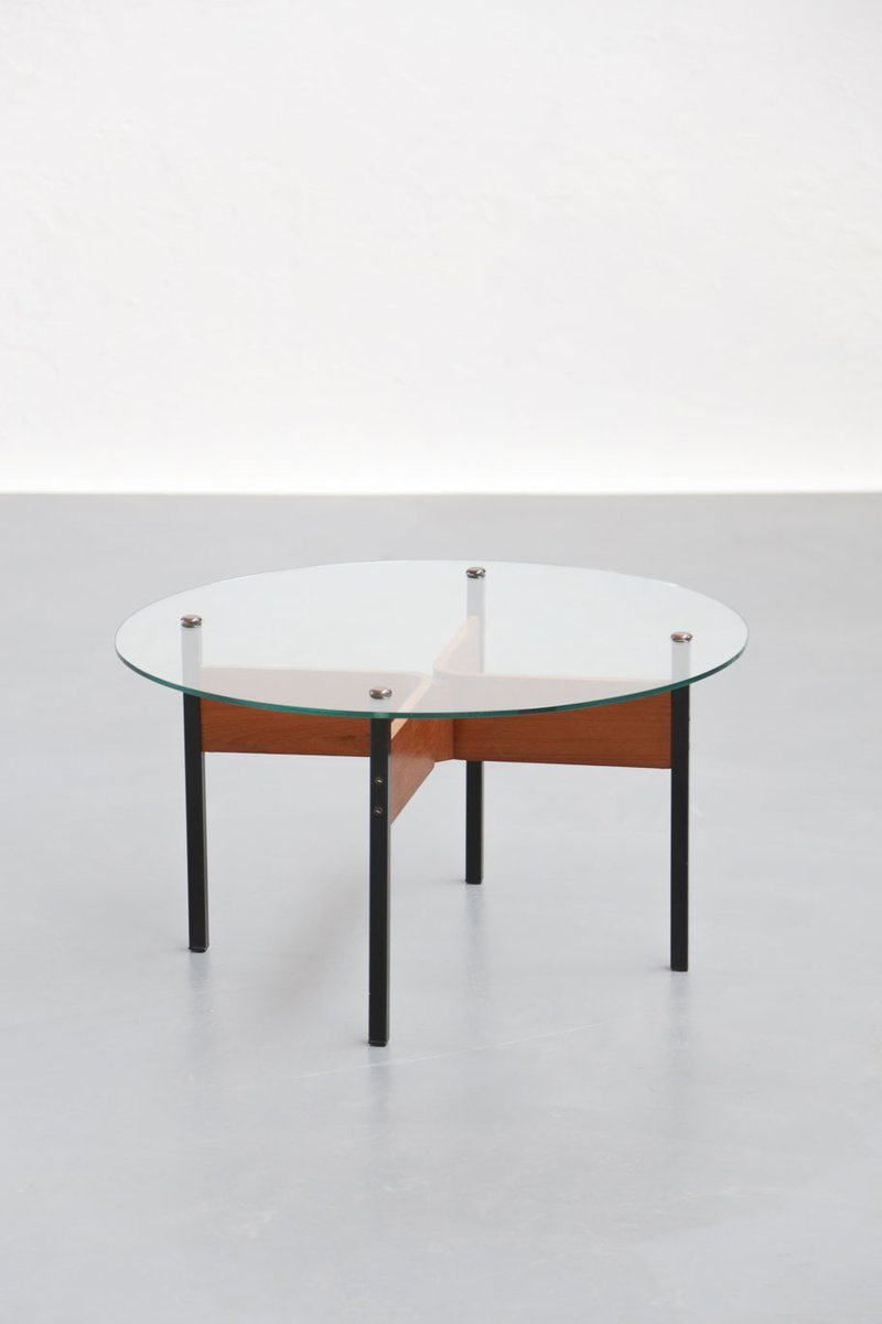 Vintage French Coffee Table By Alain Richard For Sale At Pamono