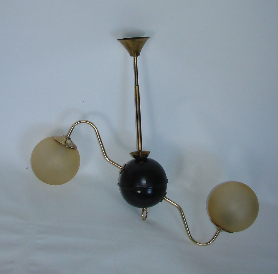 mid century hanging lamp 1960s for sale at pamono. Black Bedroom Furniture Sets. Home Design Ideas