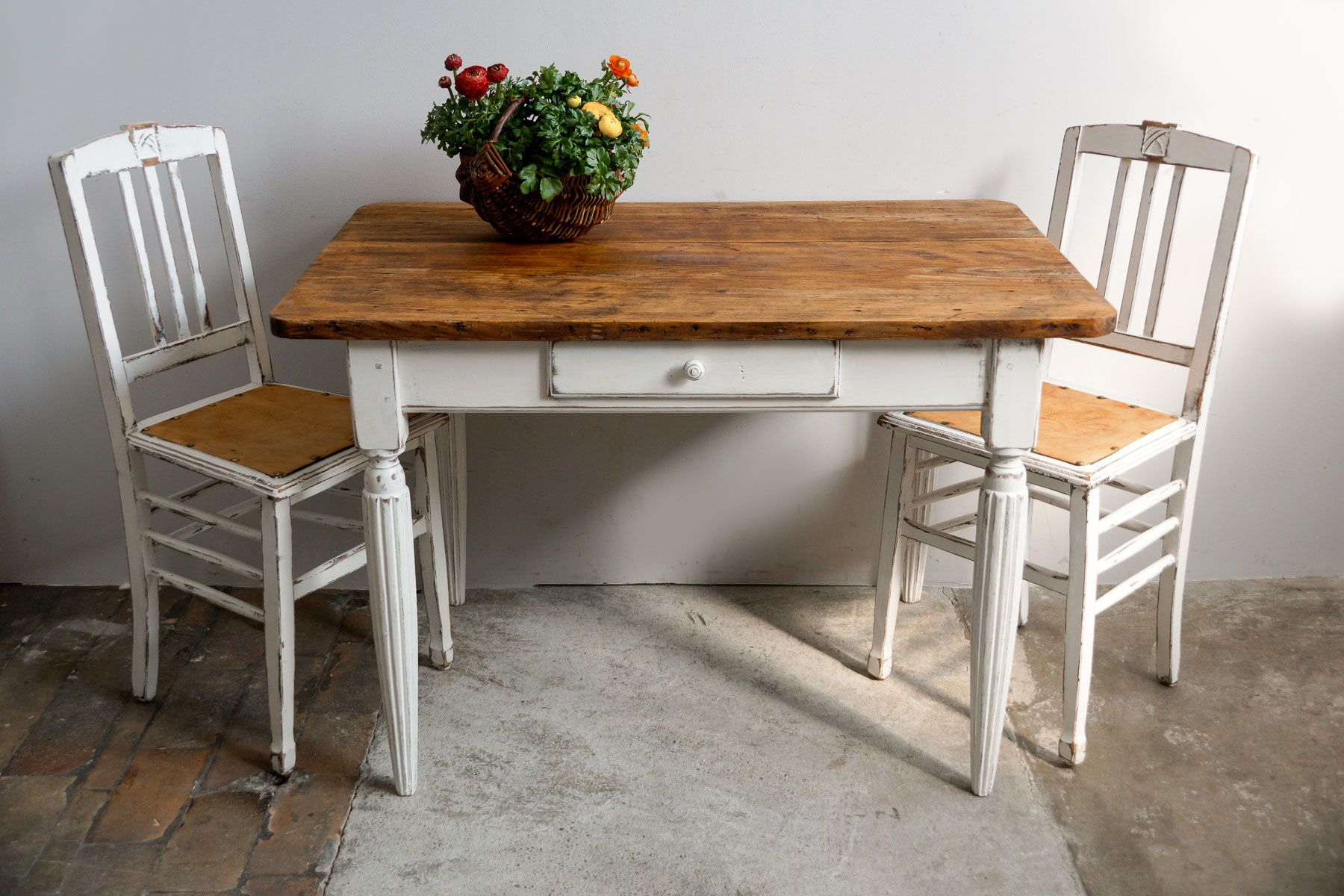 French louis philippe kitchen table 1860s for sale at pamono - Table basse louis philippe ...