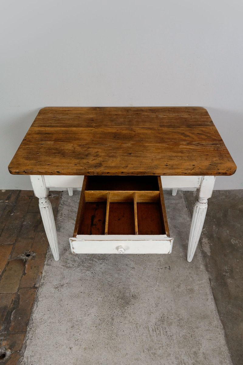 French louis philippe kitchen table 1860s for sale at pamono for Table 6 pieds louis philippe
