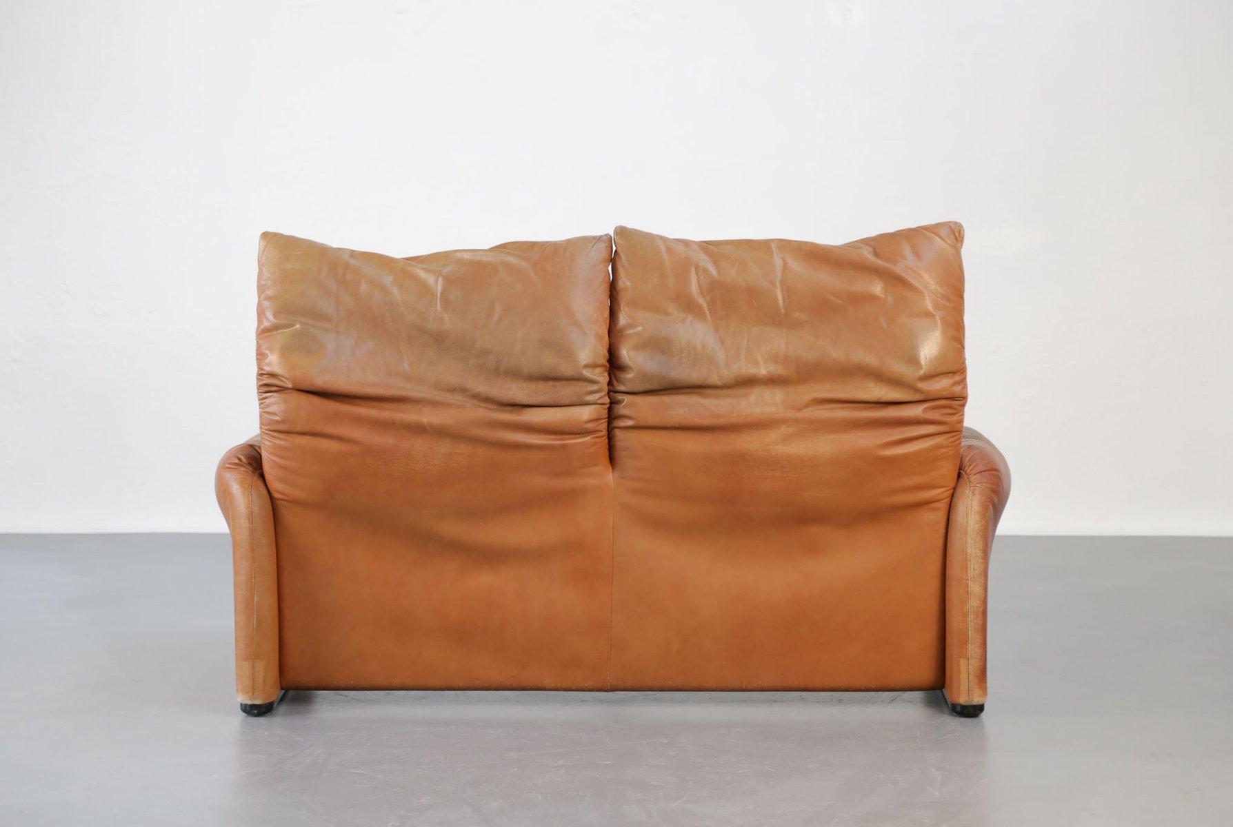 vintage maralunga sofa von vico magistretti f r cassina. Black Bedroom Furniture Sets. Home Design Ideas