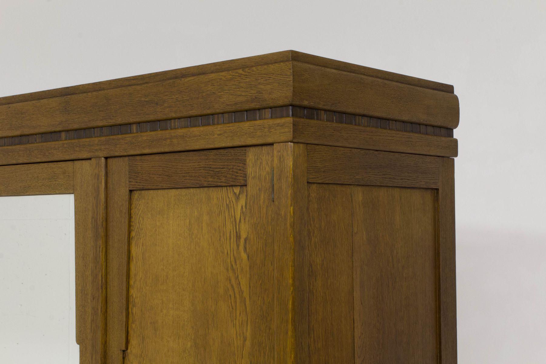 armoire art d co cole d amsterdam en vente sur pamono. Black Bedroom Furniture Sets. Home Design Ideas