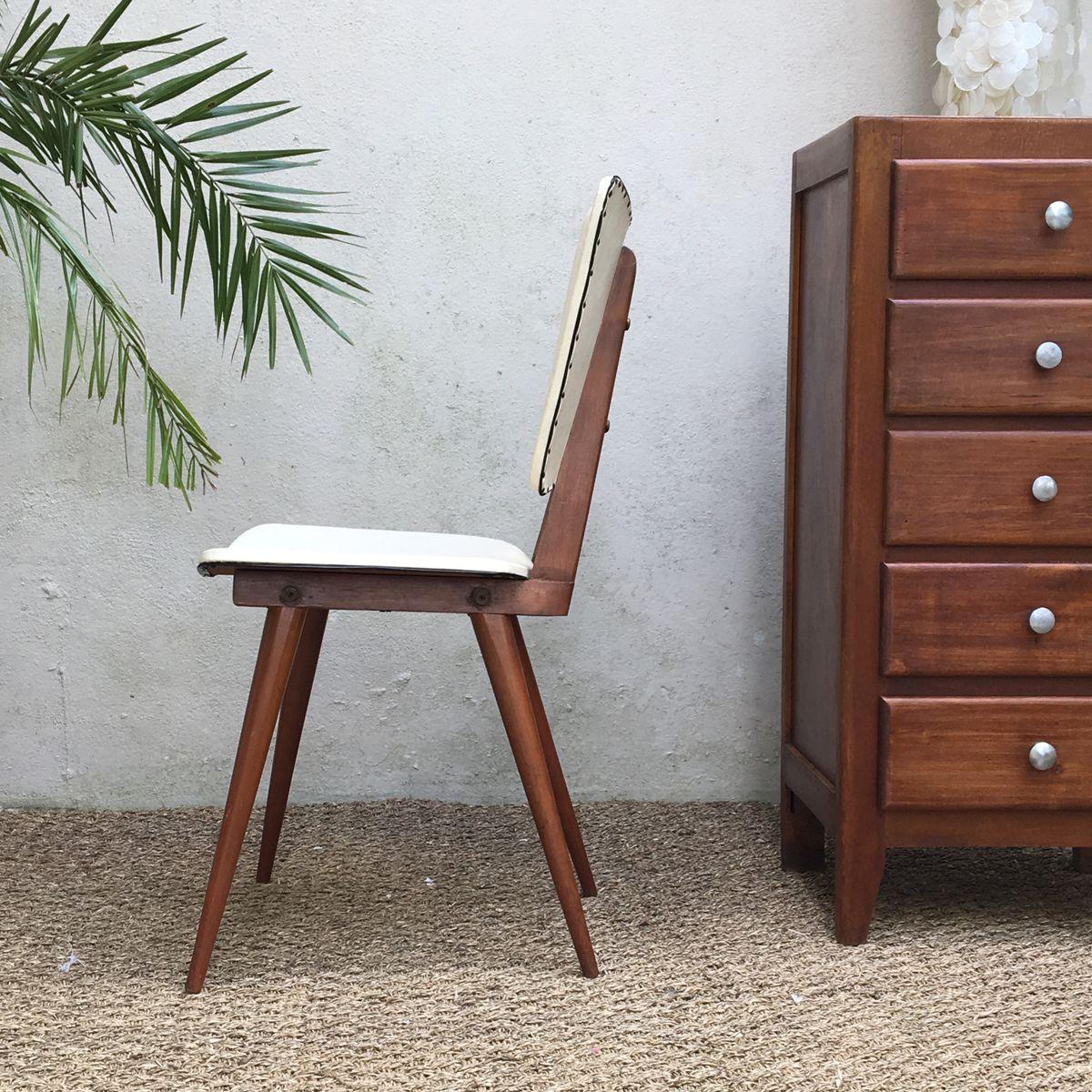 chaise vintage de baumann en vente sur pamono. Black Bedroom Furniture Sets. Home Design Ideas