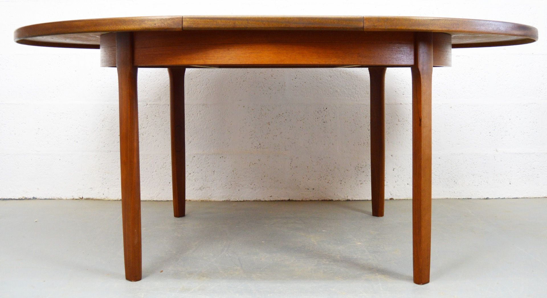 Mid Century Extendable Table In Teak From Nathan For Sale