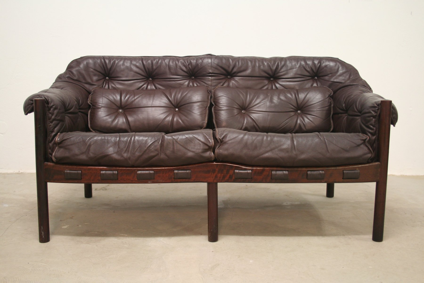 Mid Century Sofas By Arne Norell For Coja 1960s Set Of 2 For Sale At Pamono