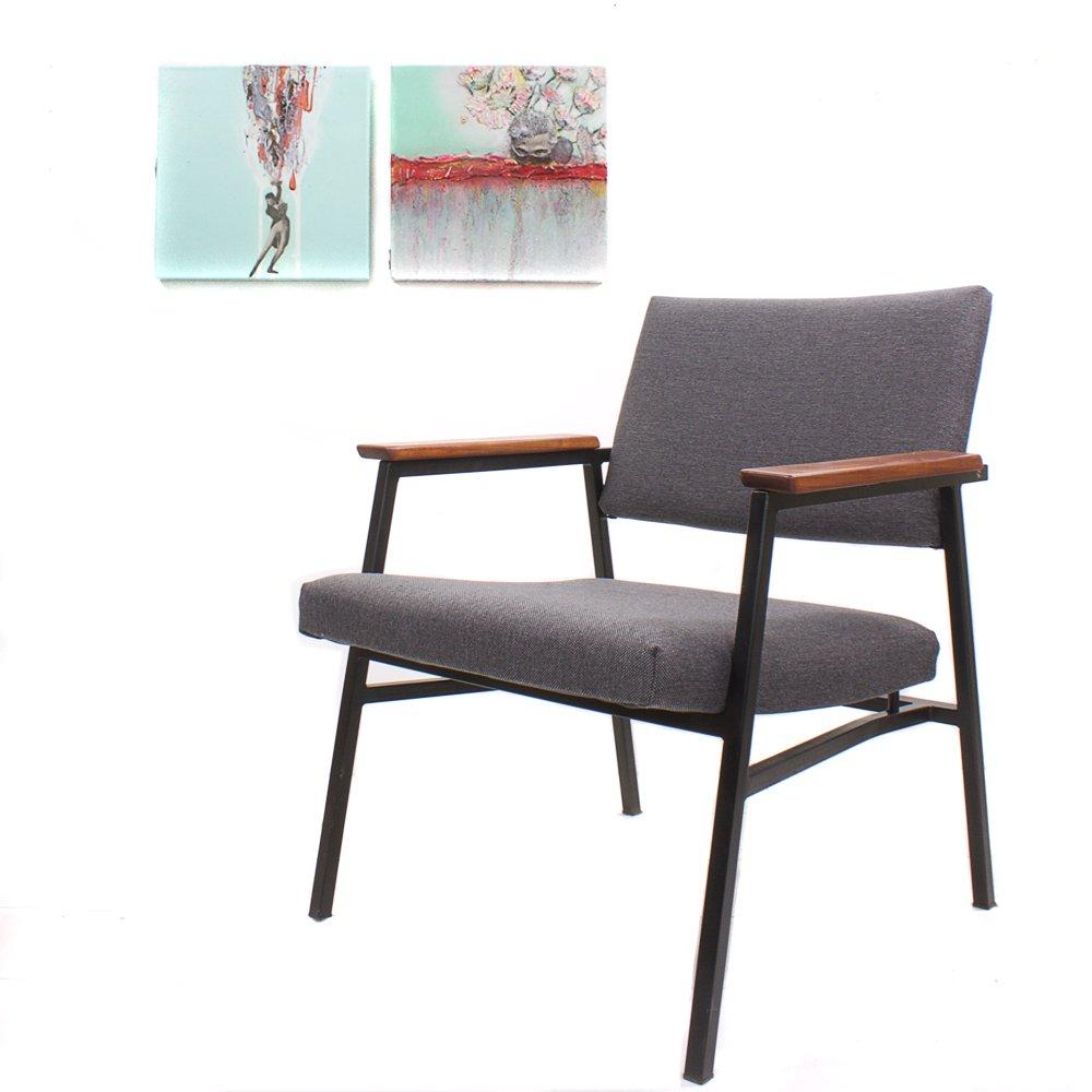 mid century sessel von gebr van der stroom f r avanti culemborg bei pamono kaufen. Black Bedroom Furniture Sets. Home Design Ideas