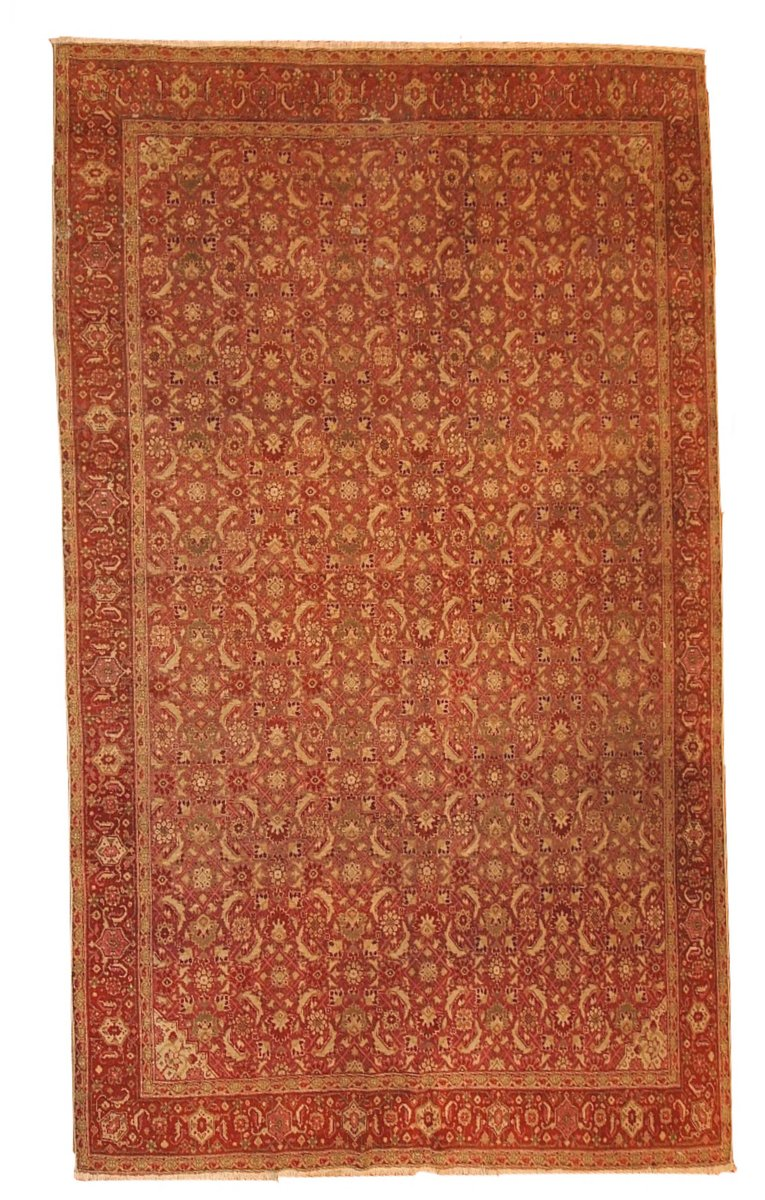 antiker indischer amritsar teppich 1900er bei pamono kaufen. Black Bedroom Furniture Sets. Home Design Ideas