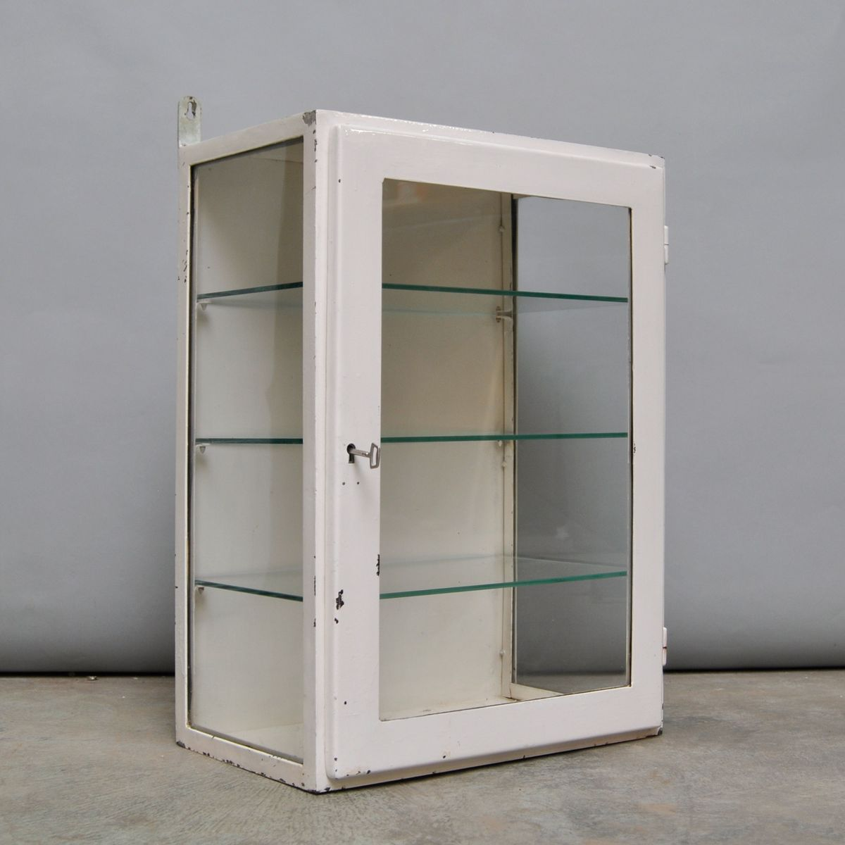 Petit meuble de rangement medical suspendu 1960s en vente for Meuble de rangement suspendu