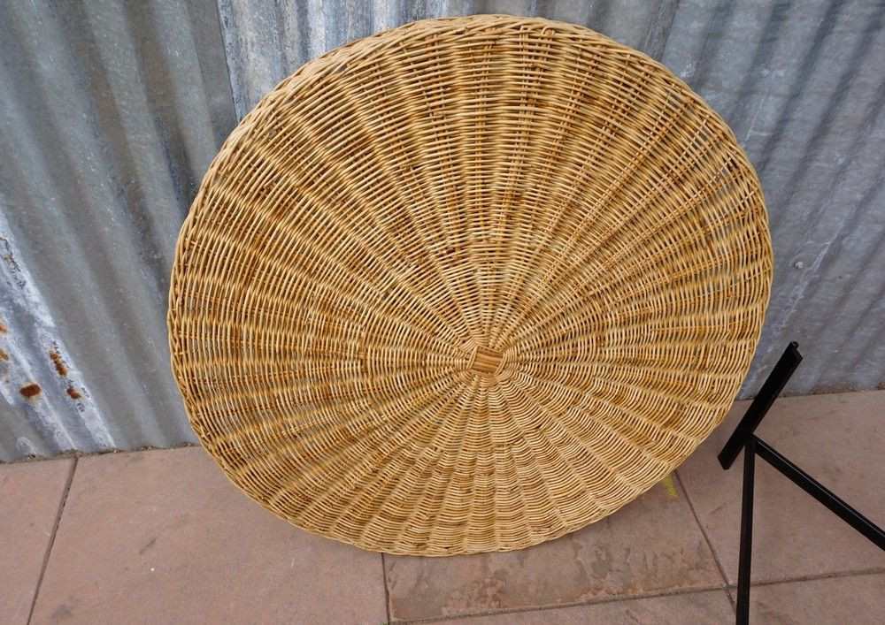 Coffee Table With Rattan Basket 13 764 00 Per Piece