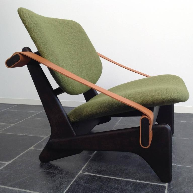 gr ner jumbo 174 sessel von olof ottelin 1950er bei. Black Bedroom Furniture Sets. Home Design Ideas