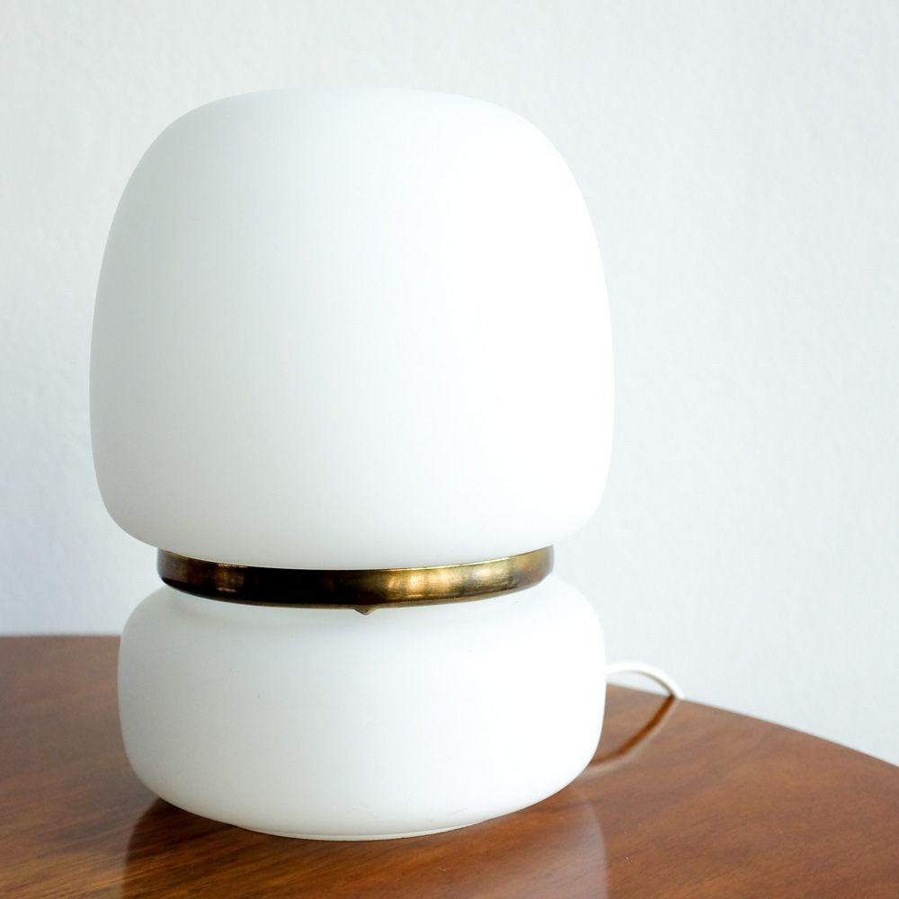 Vintage Slovakian White Table Lamp 1970s For Sale At Pamono