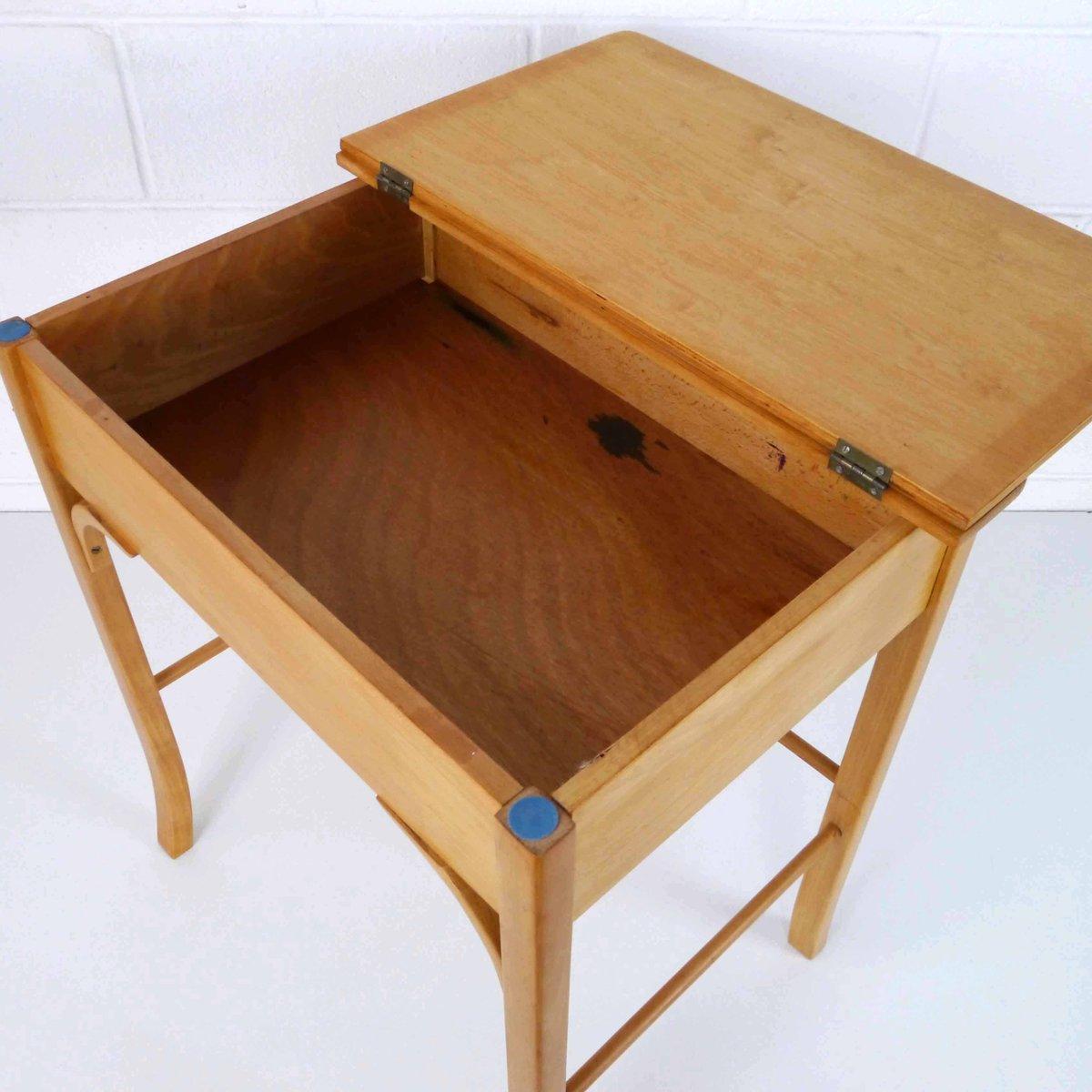 bureau et chaise vintage pour enfant de baumann en vente sur pamono. Black Bedroom Furniture Sets. Home Design Ideas