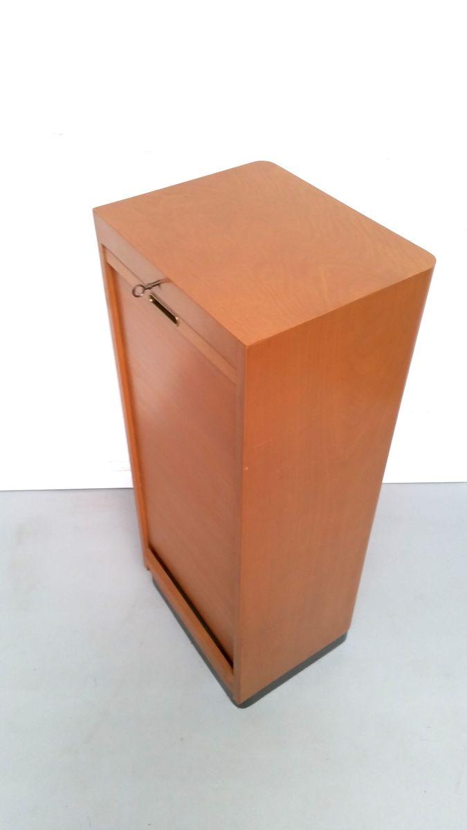 kleiner vintage schrank aus hellem holz bei pamono kaufen. Black Bedroom Furniture Sets. Home Design Ideas