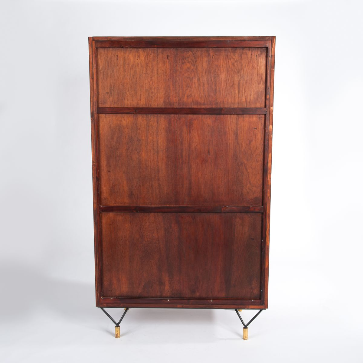 armoire avec deux portes italie 1950s en vente sur pamono. Black Bedroom Furniture Sets. Home Design Ideas