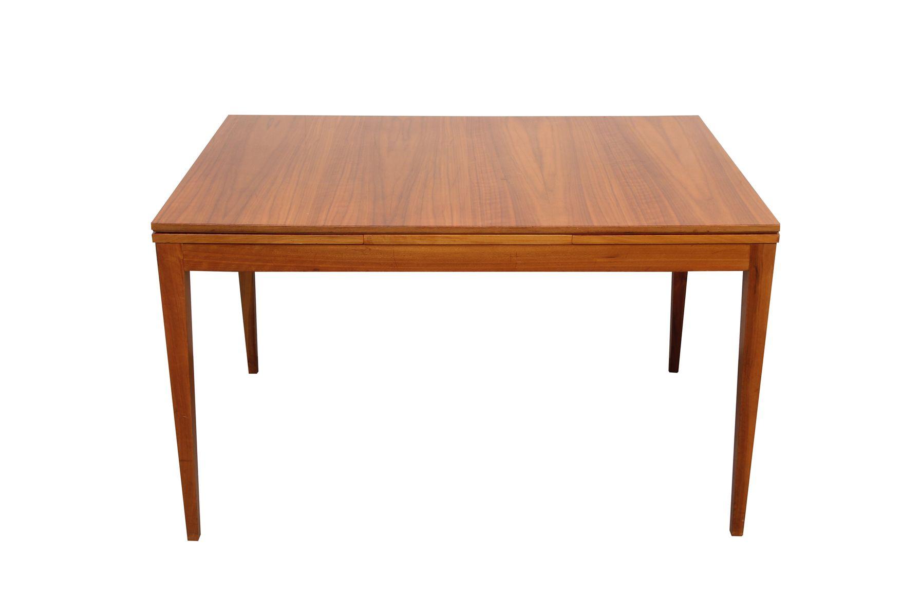 Ausziehbarer vintage nussholz esstisch bei pamono kaufen - Esstisch verspiegelt ...