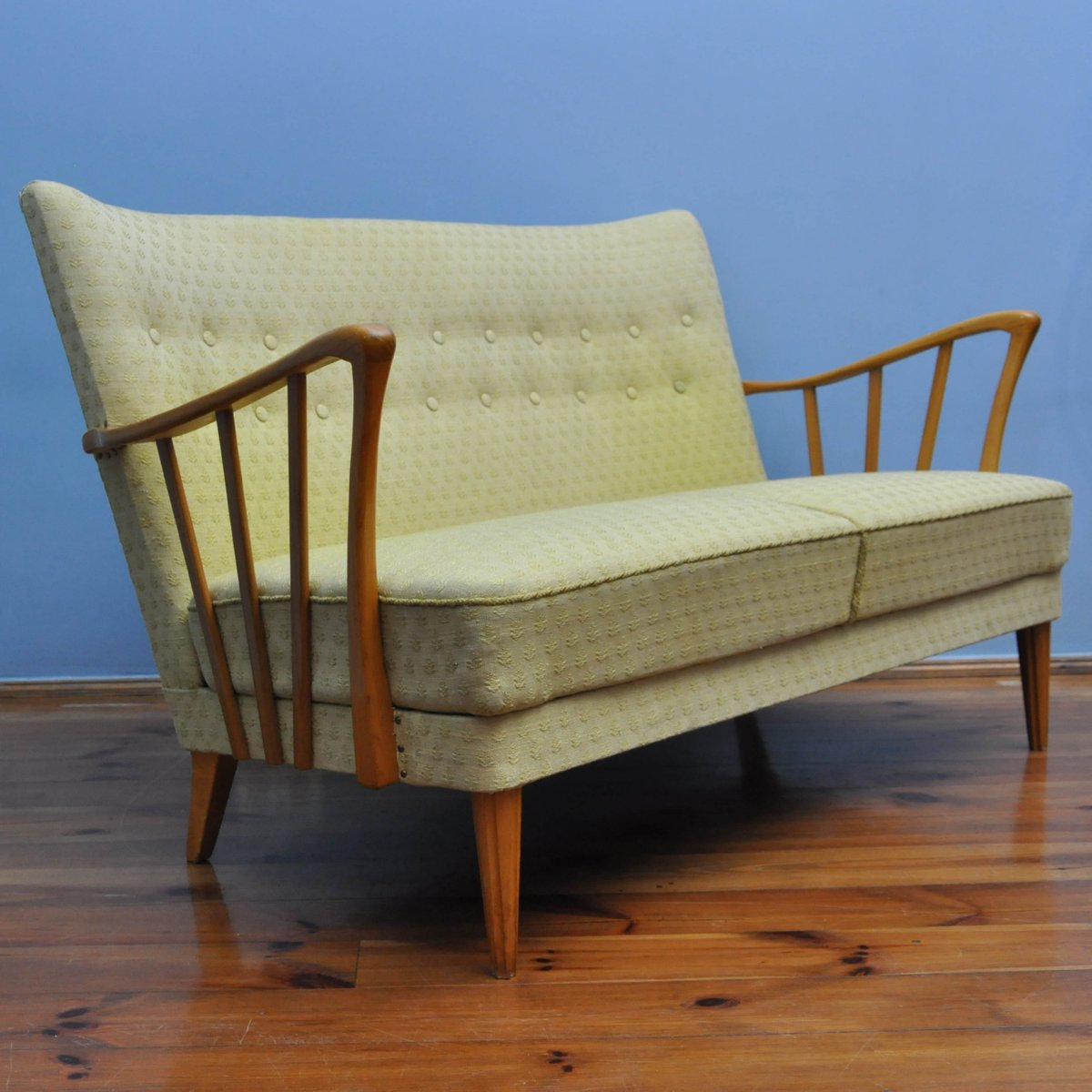 Vintage Danish Teak Sofa 1960s For Sale At Pamono