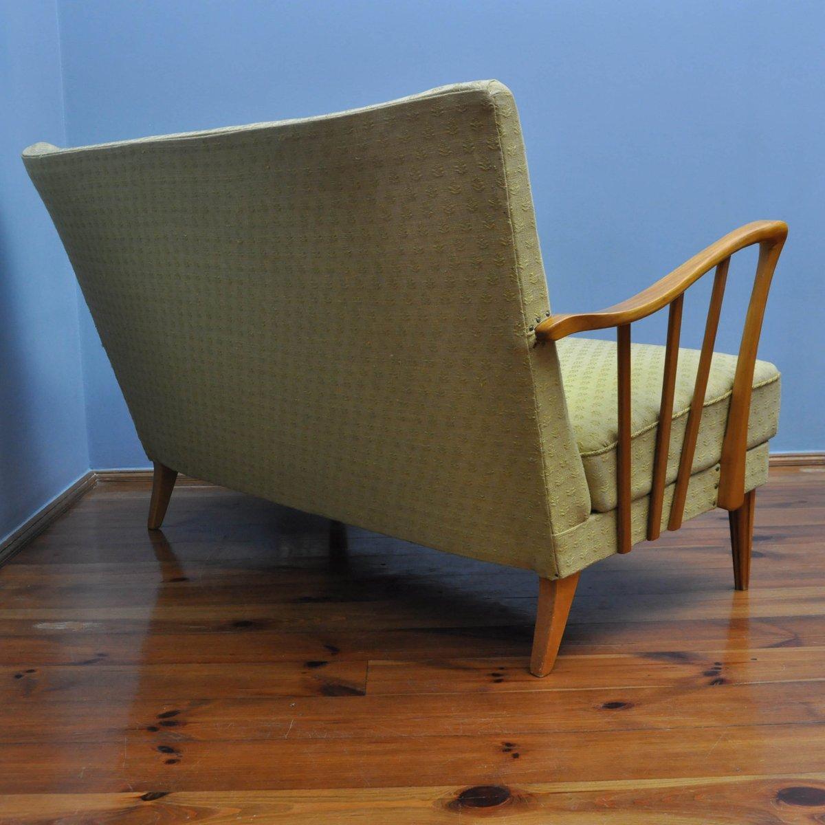 d nisches vintage teak sofa 1960er bei pamono kaufen. Black Bedroom Furniture Sets. Home Design Ideas