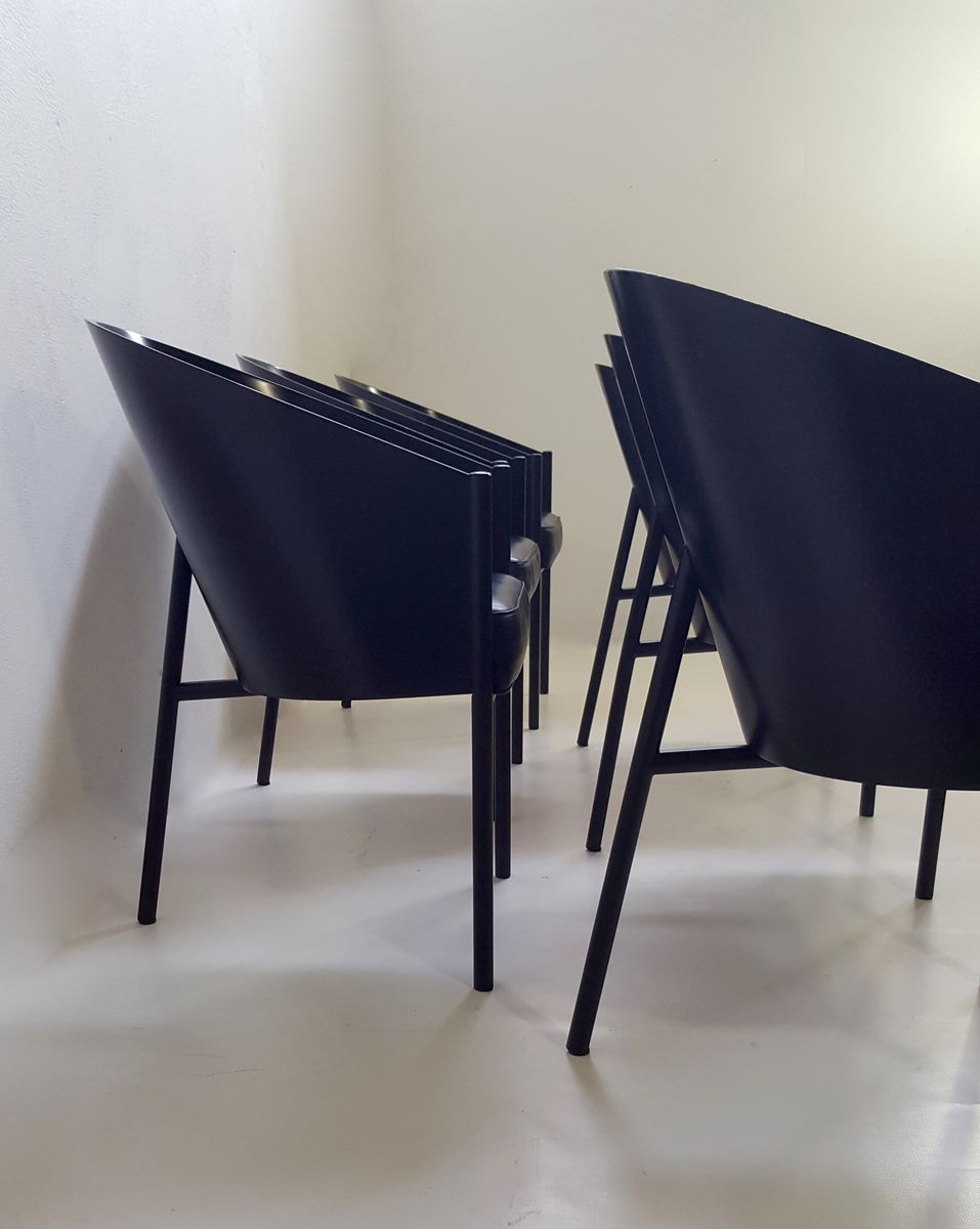 costes stuhl von philippe starck f r driade 1980er bei. Black Bedroom Furniture Sets. Home Design Ideas