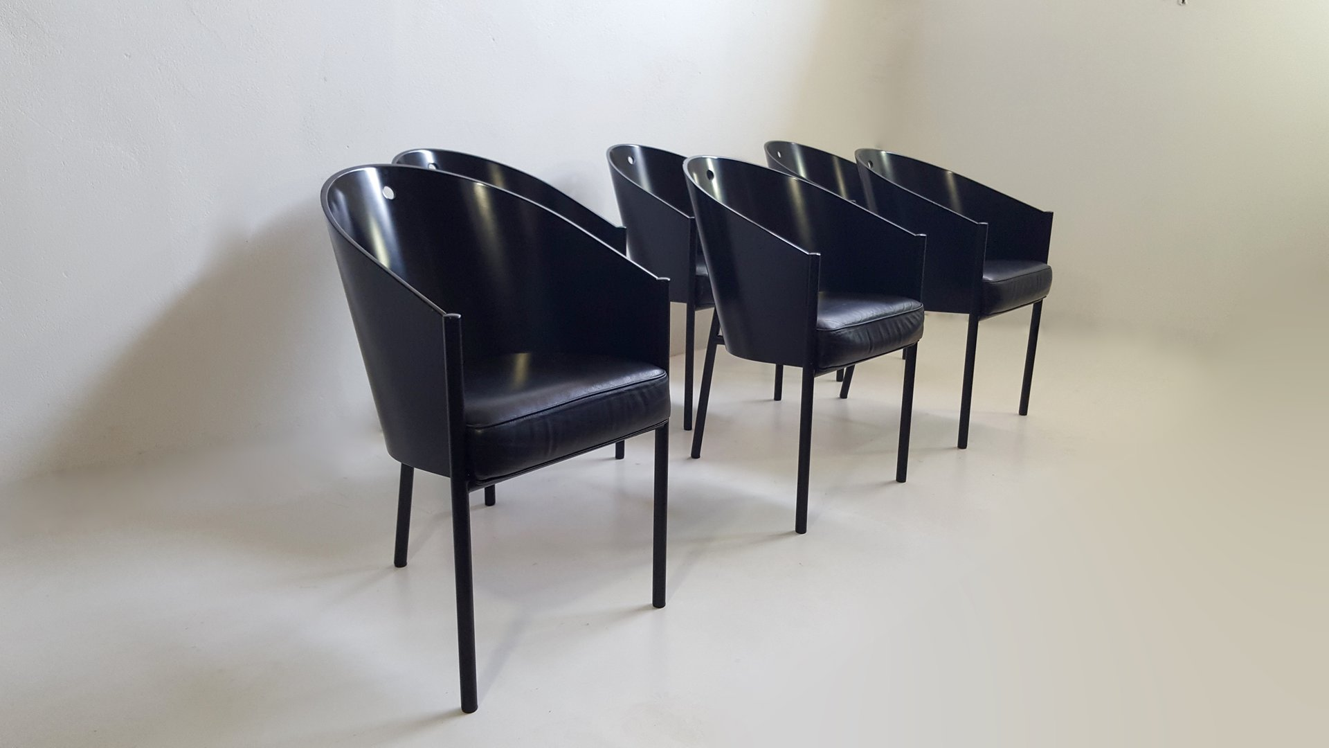 costes stuhl von philippe starck f r driade 1980er bei pamono kaufen. Black Bedroom Furniture Sets. Home Design Ideas