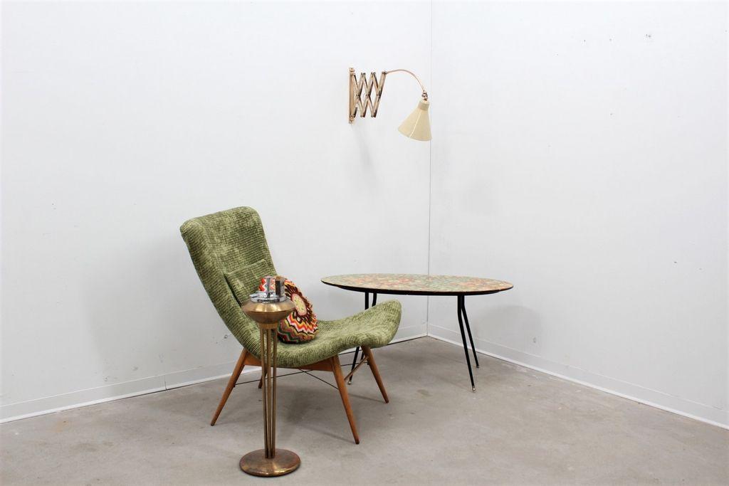italienische verstellbare wandlampe mit konischem schirm bei pamono kaufen. Black Bedroom Furniture Sets. Home Design Ideas