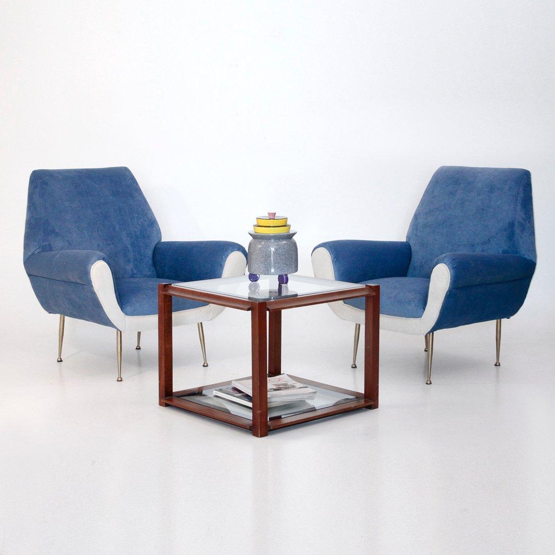 table basse carr e en bois italie en vente sur pamono. Black Bedroom Furniture Sets. Home Design Ideas