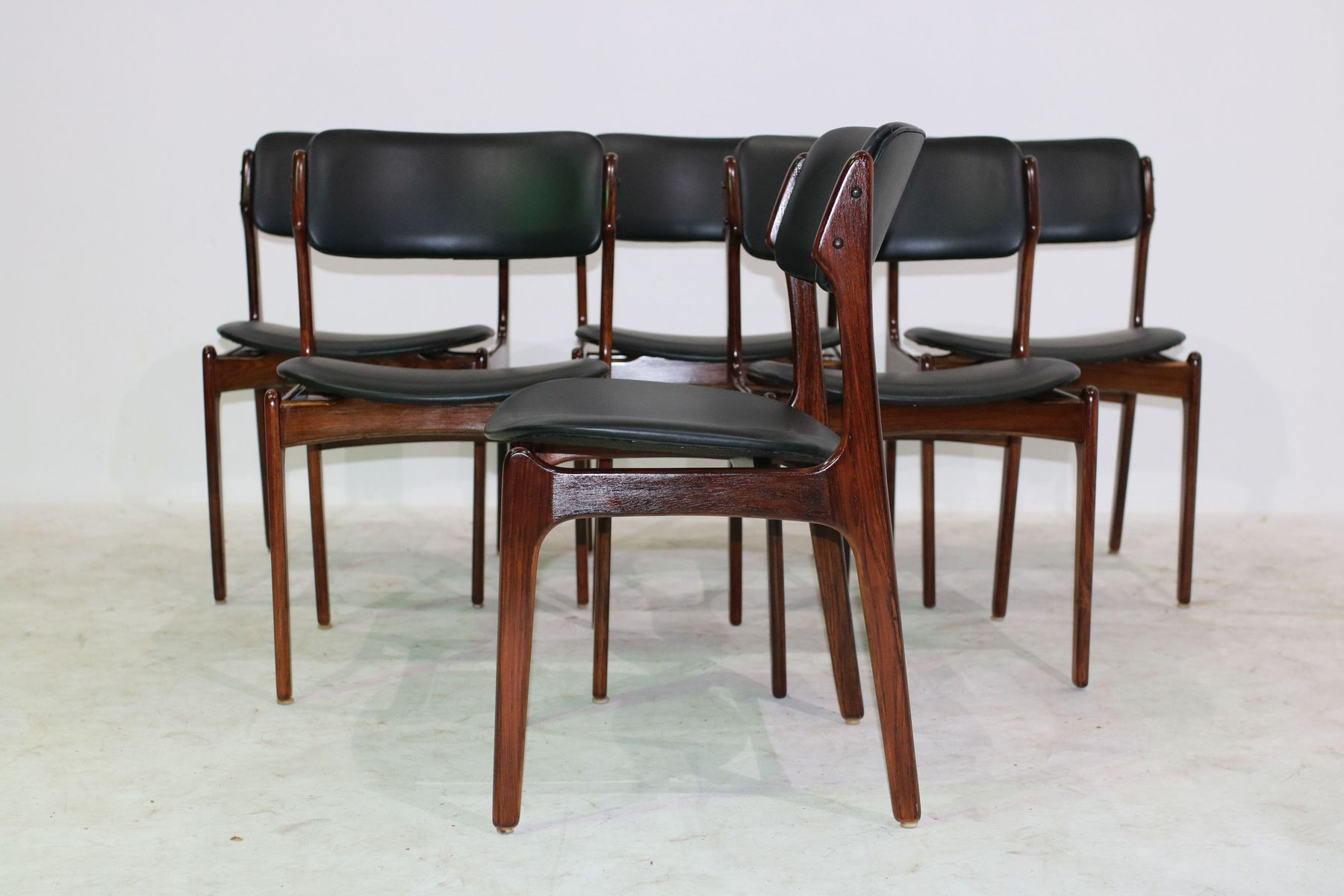 Dining Chair Price Rosewood Dining Chairs By Erik Buch For Oddense Maskinsnedkeri A S