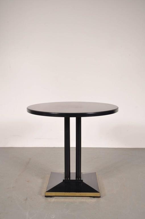 franz sischer beistelltisch von thonet 1980er bei pamono. Black Bedroom Furniture Sets. Home Design Ideas