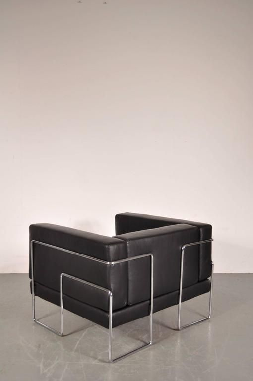 franz sischer sessel von kwok ho chan f r steiner 1969. Black Bedroom Furniture Sets. Home Design Ideas