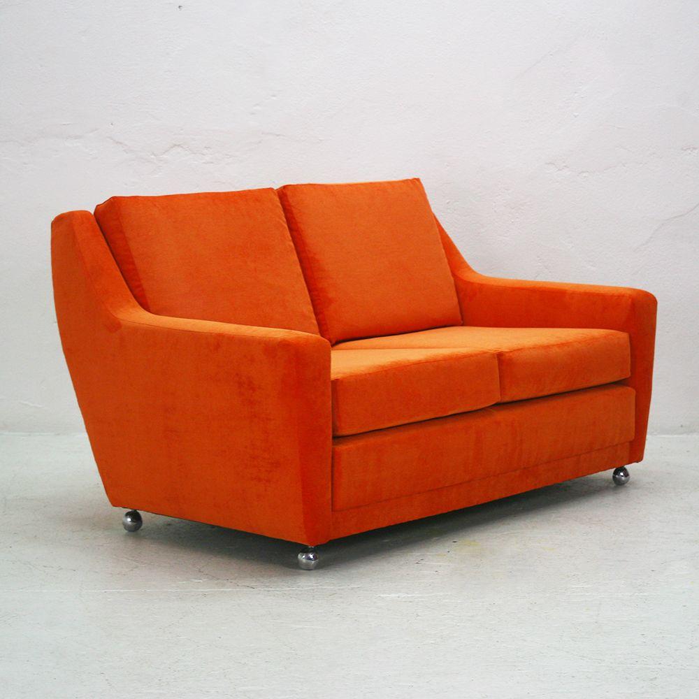 2 sitzer wildleder sofa 1970er bei pamono kaufen for Sofa 5 sitzer