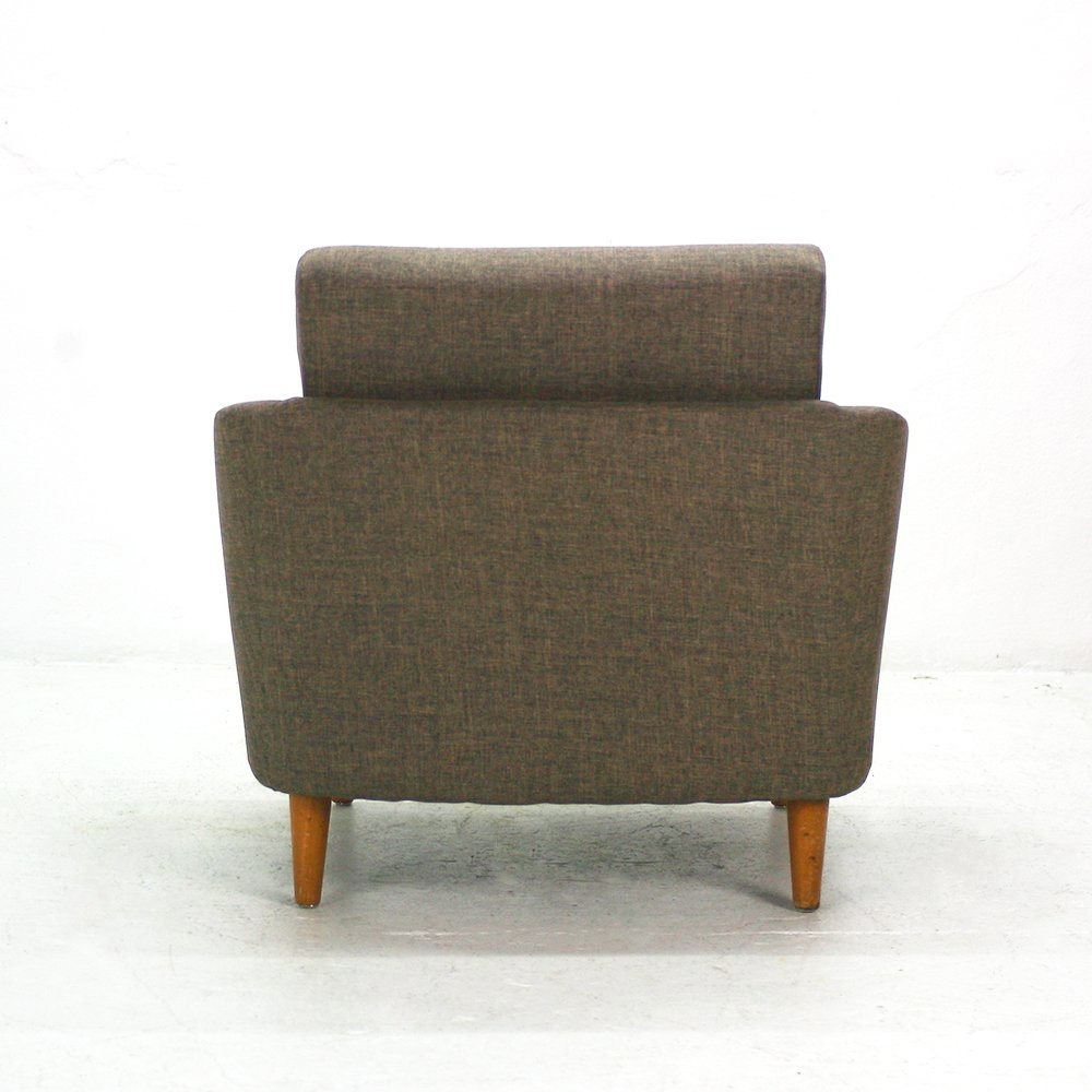 Warm Gray Lounge Chair 1950s for sale at Pamono