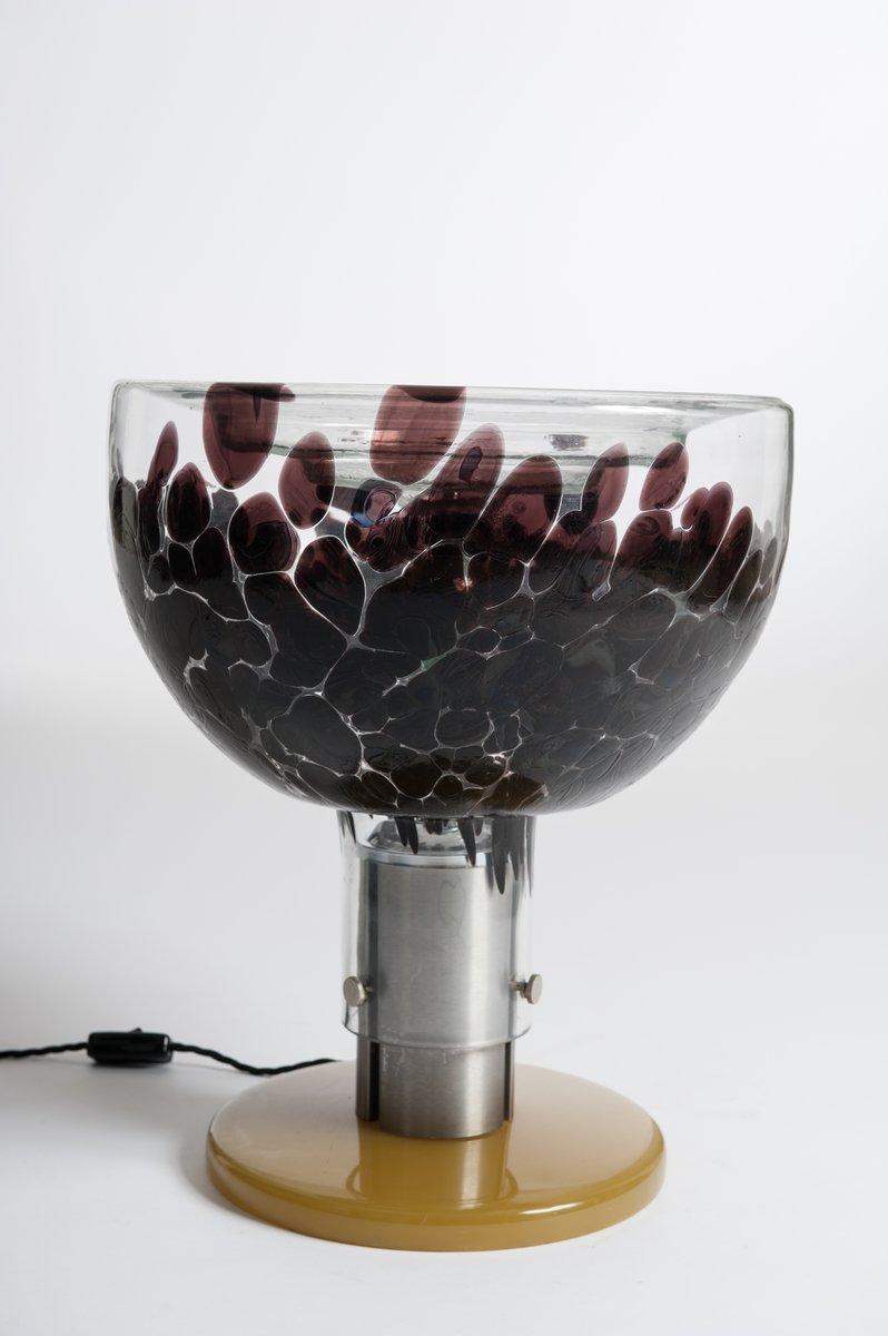 lampe de bureau en verre de murano italie 1960s en vente. Black Bedroom Furniture Sets. Home Design Ideas