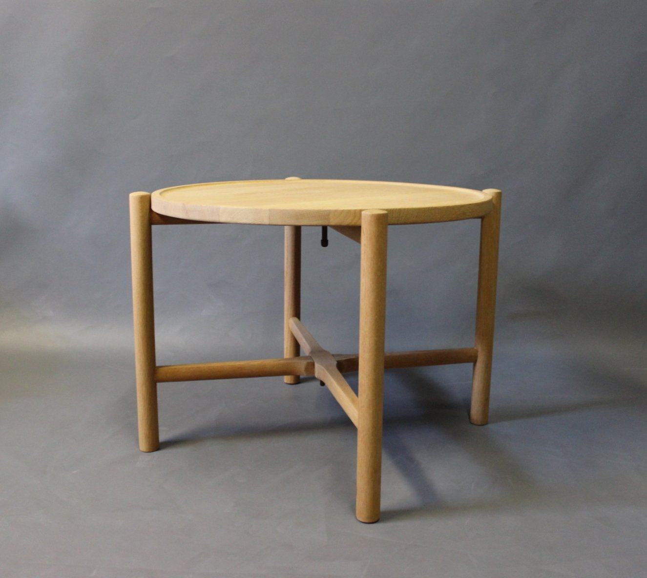 Model PP35 Oak Side Table by Hans J Wegner for PP Mbler 1960s
