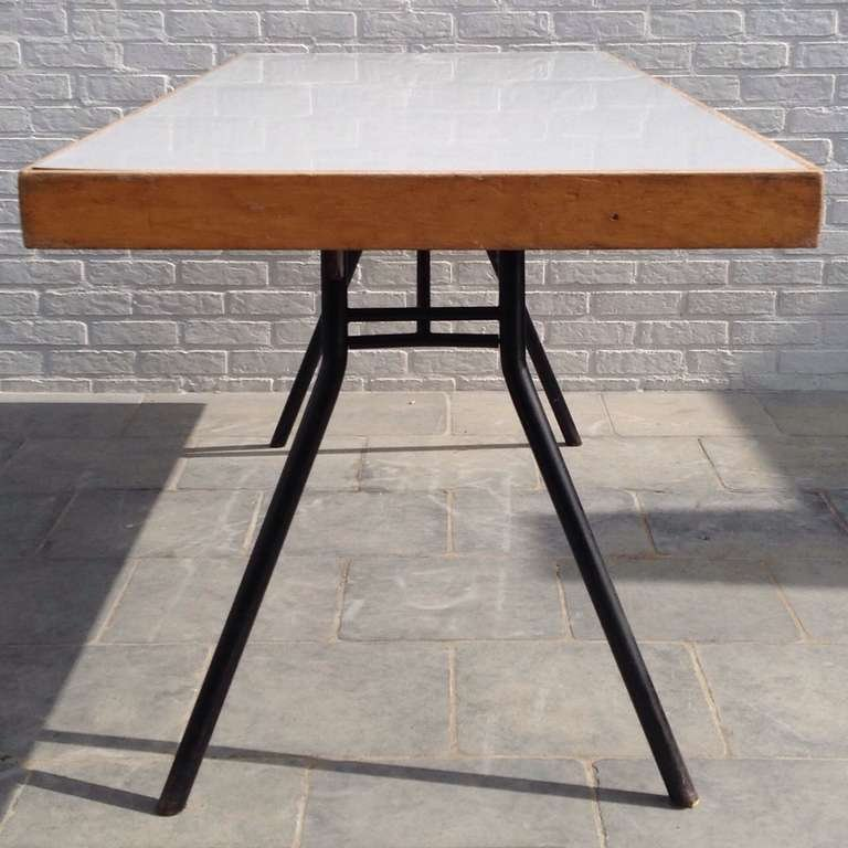 Collapsible dining table 1958 for sale at pamono - Collapsible dining table ...
