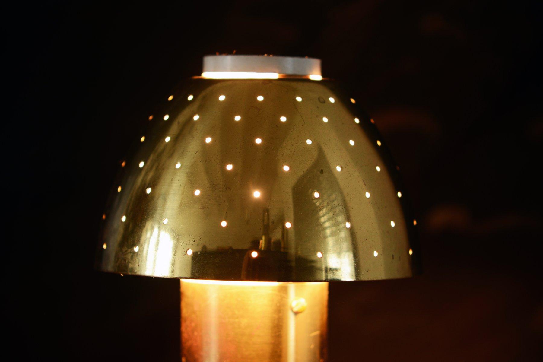 lampe de bureau en laiton perfor de hans agne jakobsson 1960s en vente sur pamono. Black Bedroom Furniture Sets. Home Design Ideas