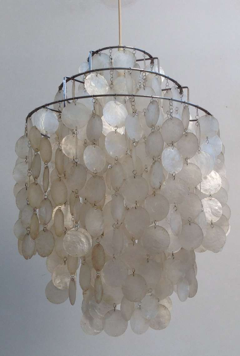 Fun 1 dm shell lamp by verner panton for l ber 1967 for for Funny lamps for sale