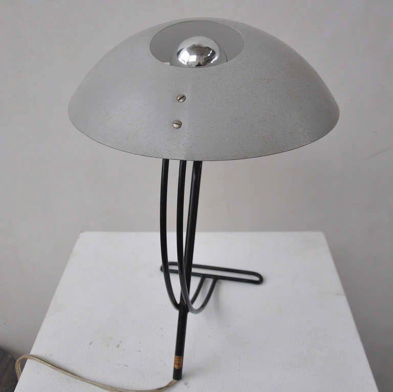 Lampe bureau pour dessinateur : Lampe de bureau par louis kalff pour philips en